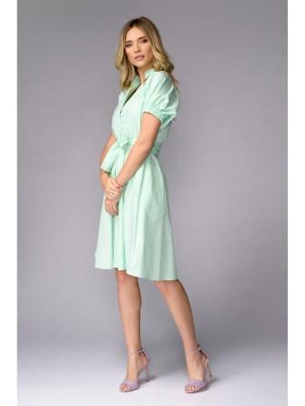 rochie-verde-incheiata-cu-nasturi-etic
