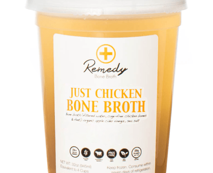 Just Chicken Bone Broth – The Urban Juicer