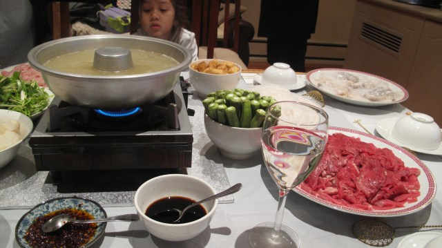 hot pot dinner party