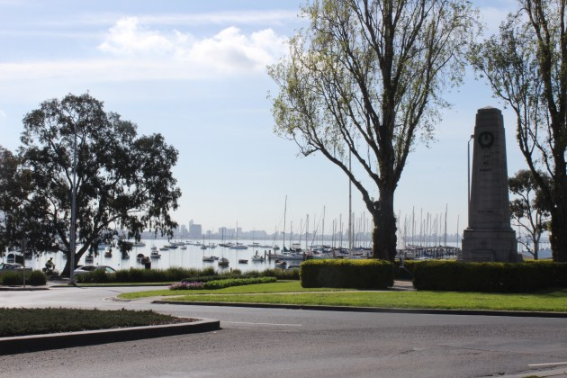 Williamstown view of Melbourne
