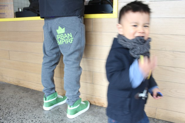 The Urban Ma daddy and son ootd