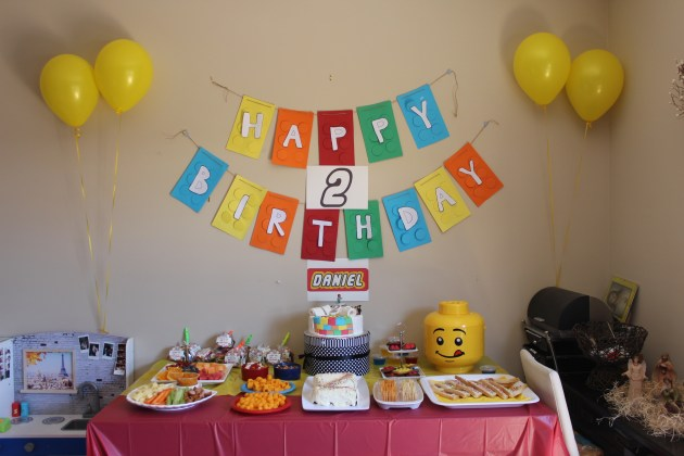 Kids party Lego theme party