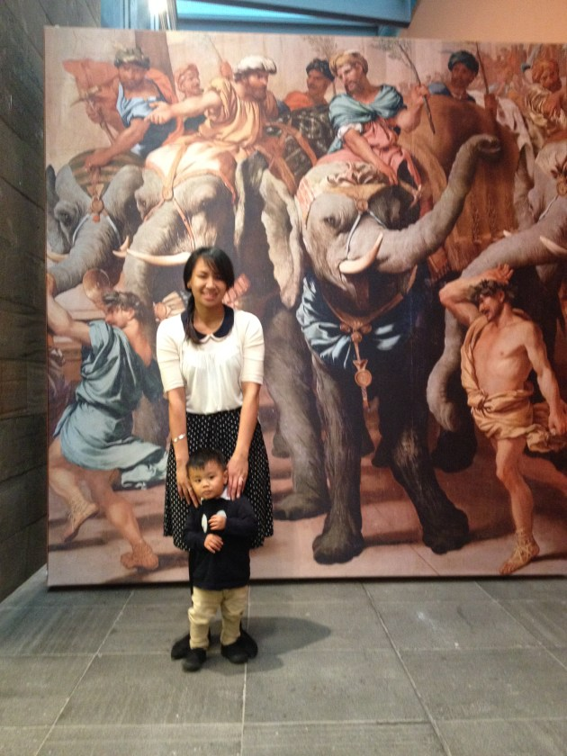 NGV Melbourne exhibition