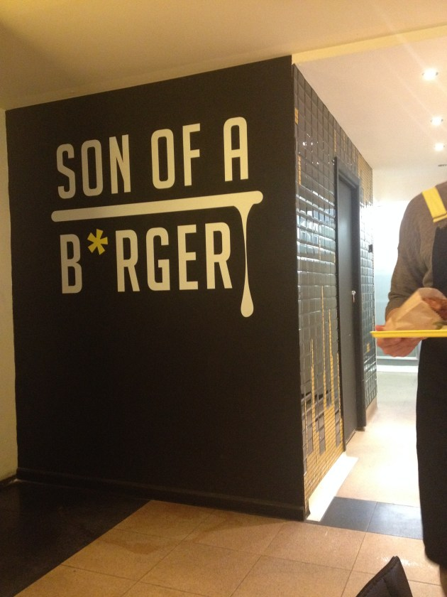 Son of a Burger Collins street Melbourne