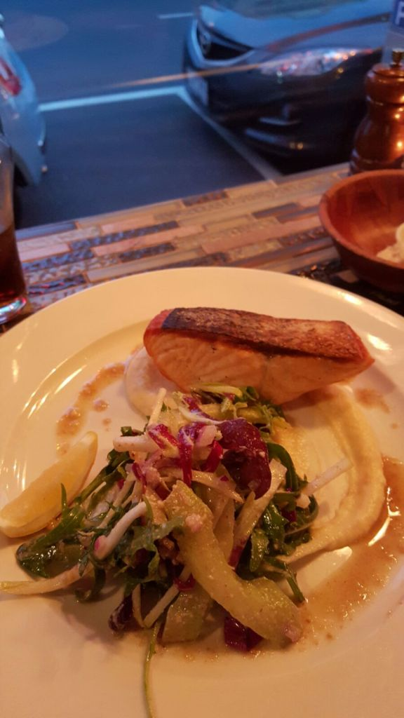 Cafe Terroni salmon date night Yarraville