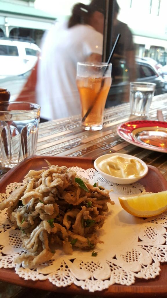 Cafe Terroni white bait