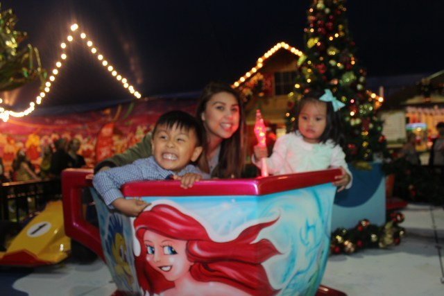 Santa's Magical Kingdom 2015 review rides