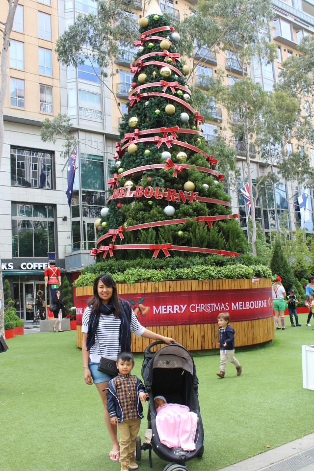 Melbourne City Square Christmas 2015