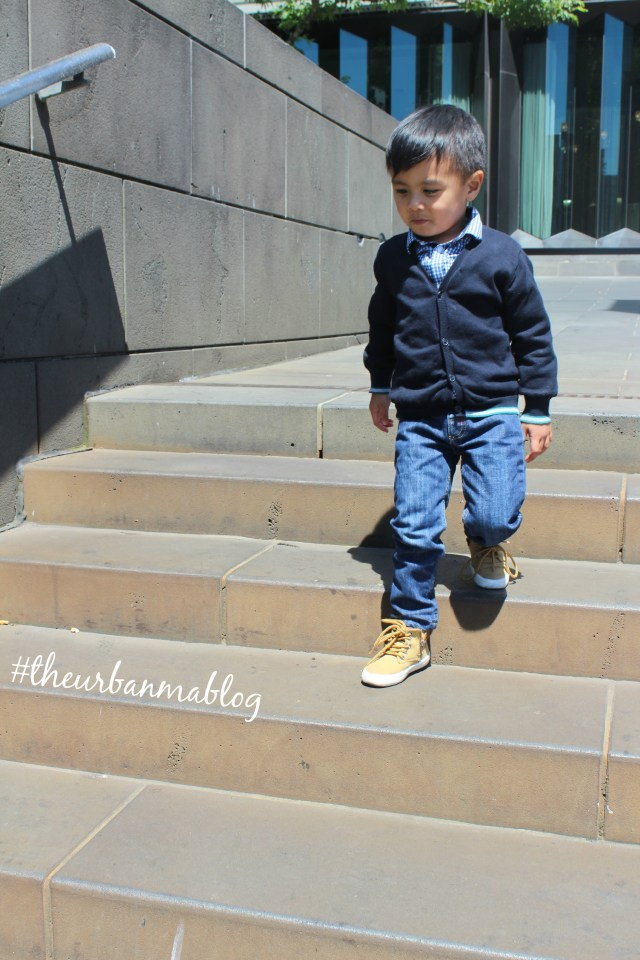 Daniel wears The Urban Ma blog Zara kids