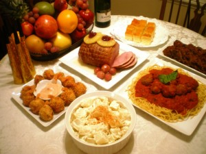 Filipino food new years
