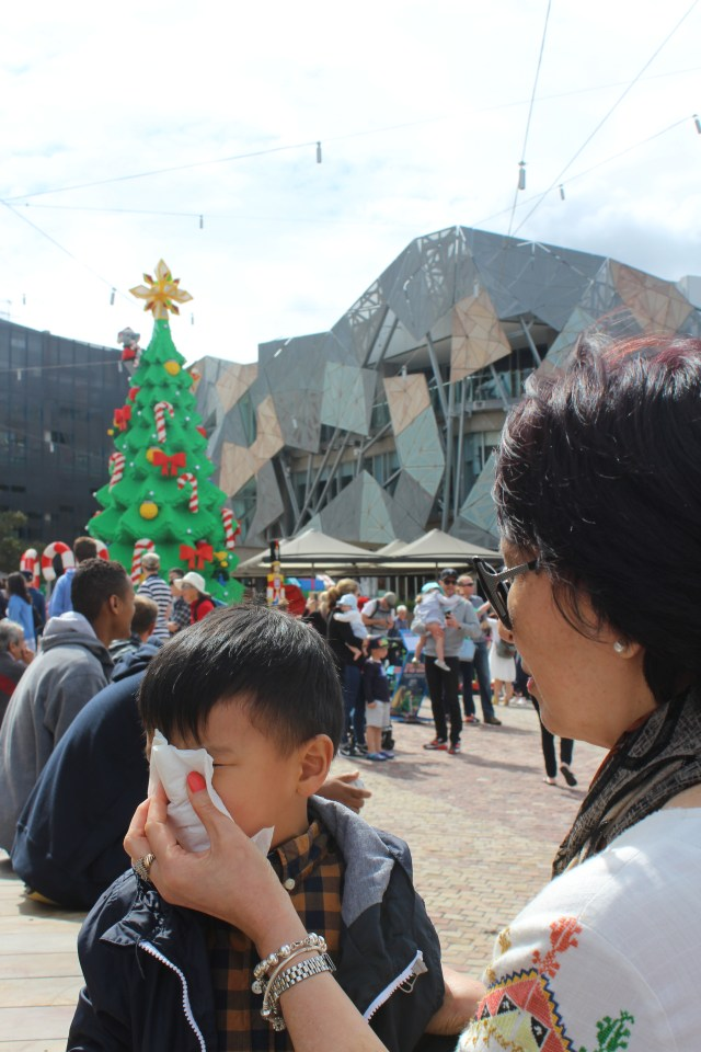 Christmas in Fed Square Melbourne