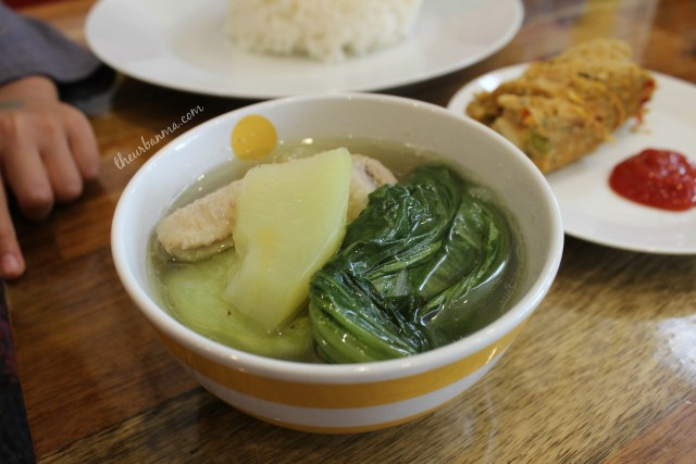 Pusong Pinoy chicken tinola