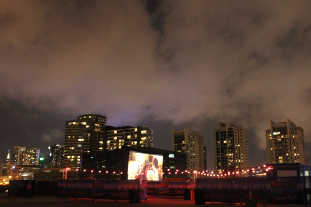 Melbourne bucketlist drive-ins Backlot rooftop drive in Docklands