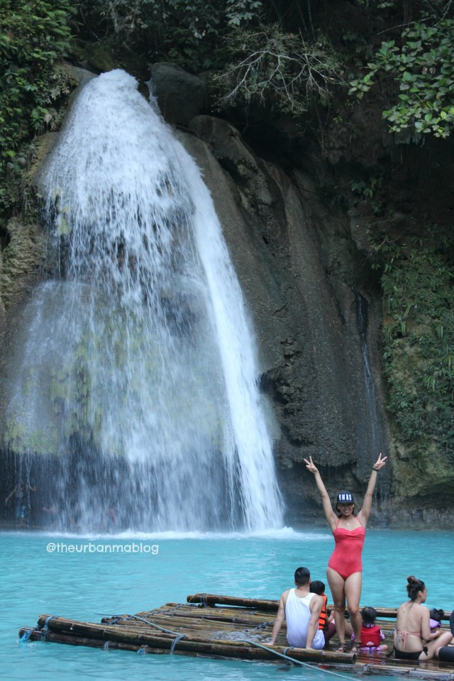 Kawasan Falls Philippine Travel Blog with Kids