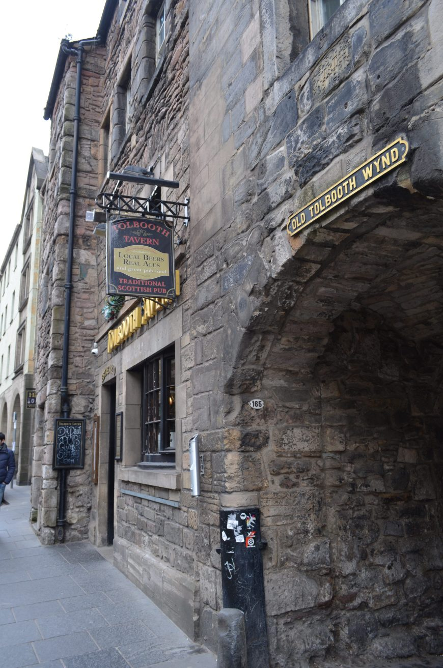 Edinburgh, Tollbooth, Royal Mile