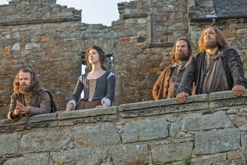 Aberdour Castle, Scotland, Outlander