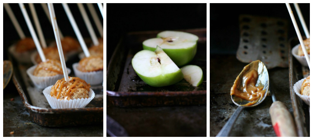 Caramel Apple Coconut Macaroons