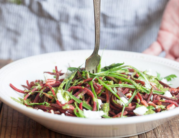 Spiralized Beet Salad 2