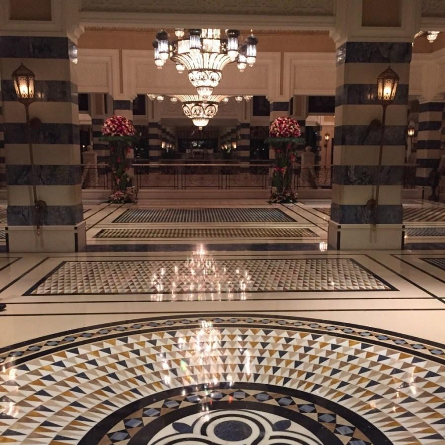 Gorgeous Al Qasr Hotel Lobby