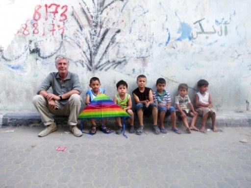 Anthony Bourdain in Israel
