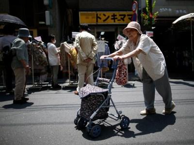 Japanese Elderly Lady