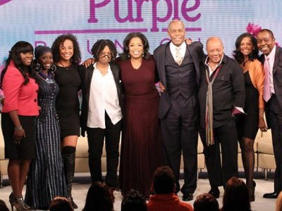 the cast of the Color Purple reunites 25 years later