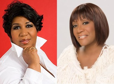 Patti and Aretha