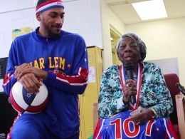 McLaurin turns 107 years old