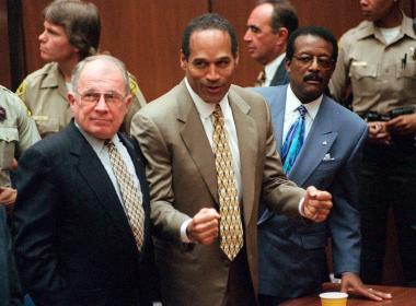 O.J. Simpson, F. Lee Bailey, Johnnie L. Cochran Jr.