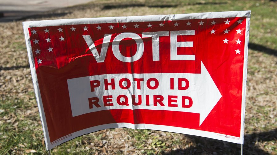 Voter ID Sign