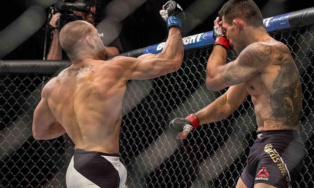 MMA: UFC Fight Night-Dos Anjos vs Alvarez