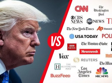 Trump's love-hate relationship with the media