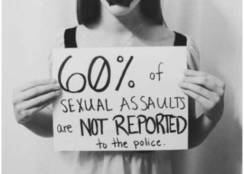 All rapes are not immediately reported, some never