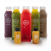 raw juce bottles