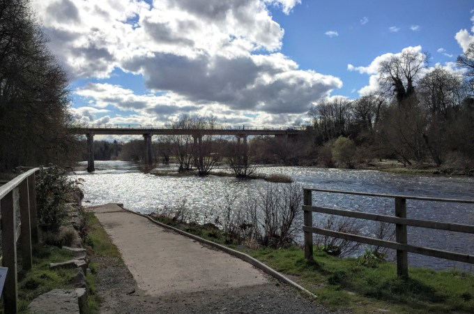 Easter camping in Hay-on-Wye