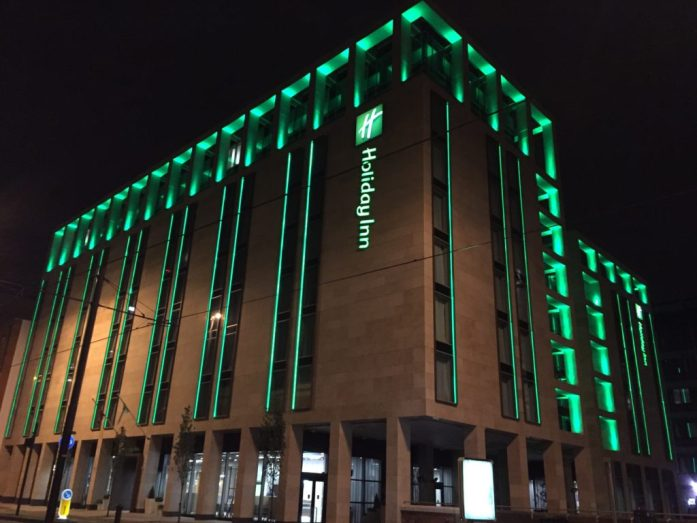 Manchester by dusk and by night | The Urban Wanderer