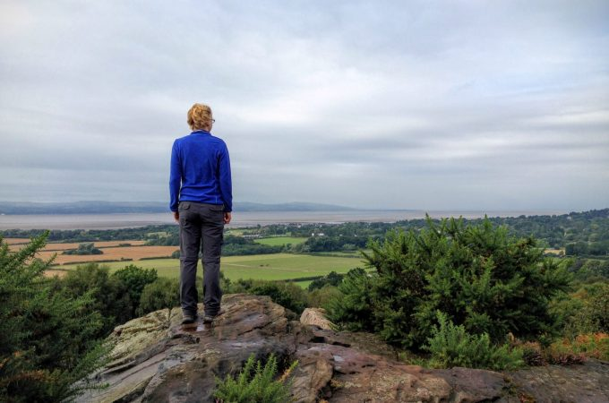 Thurstaston Common – Thor's Rock and Wirral Views
