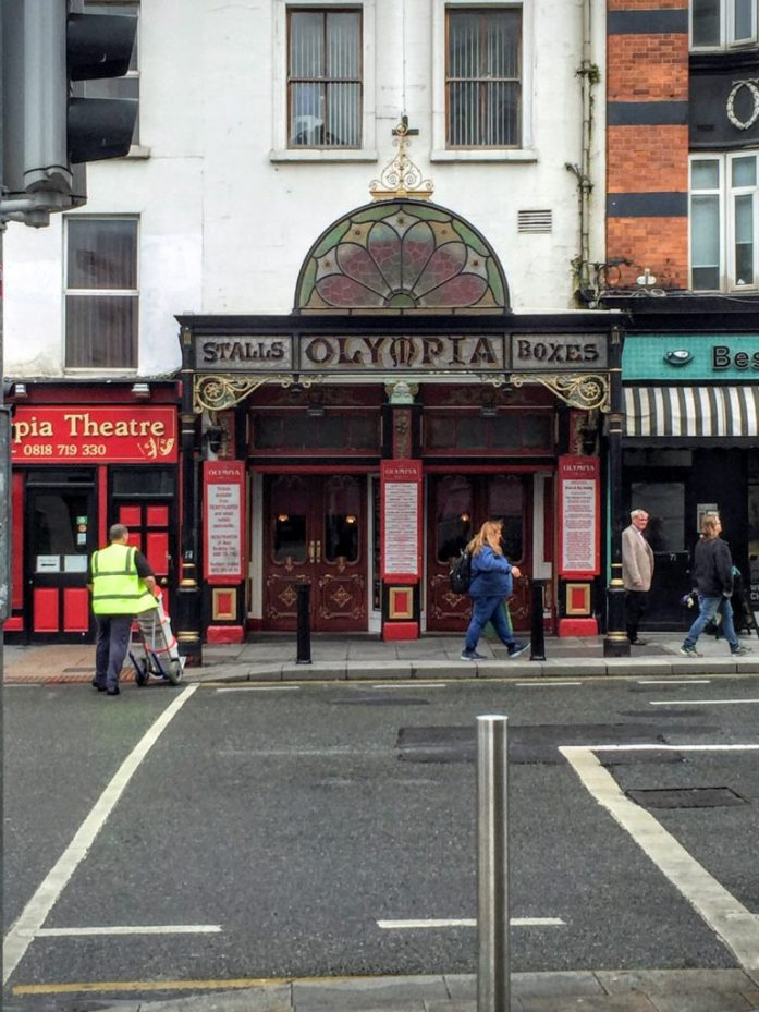 Dublin by Foot - A free walking tour with Dublin Discovery Trails   Olympia Theatre   The Urban Wanderer   Sarah Irving