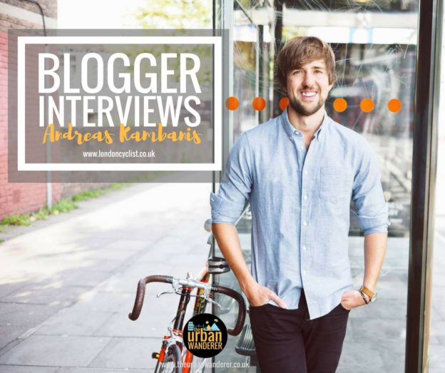 Interview: London Cyclist Andreas Kambanis | The Urban Wanderer | Sarah Irving | Under 1 Hour from manchester | Places to visit near Manchester | Outdoor Blogger | Manchester Blogger
