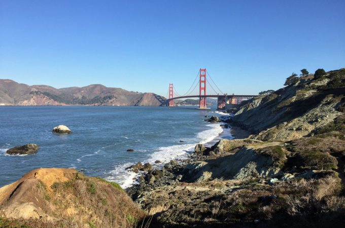 Hiking to the Golden Gate Bridge