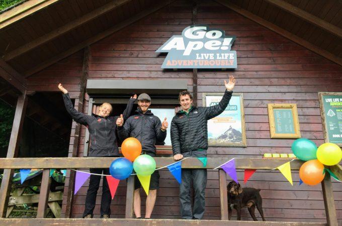 Birthday Celebrations at Go Ape Buxton