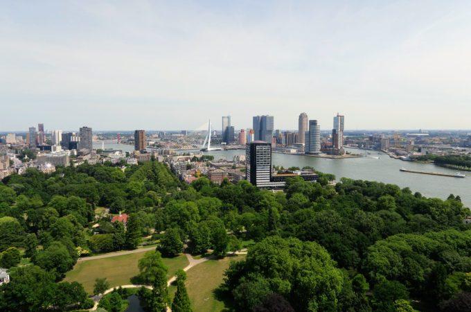 Adventures in Rotterdam   Euromast, Yellow Bridge and Burgers