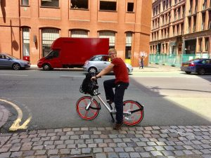 Manchester Mobike | Manchester Bike Hire | The Urban Wanderer | Sarah Irving | Europe | Outdoor Blogger | Travel Blogger | Manchester Blogger
