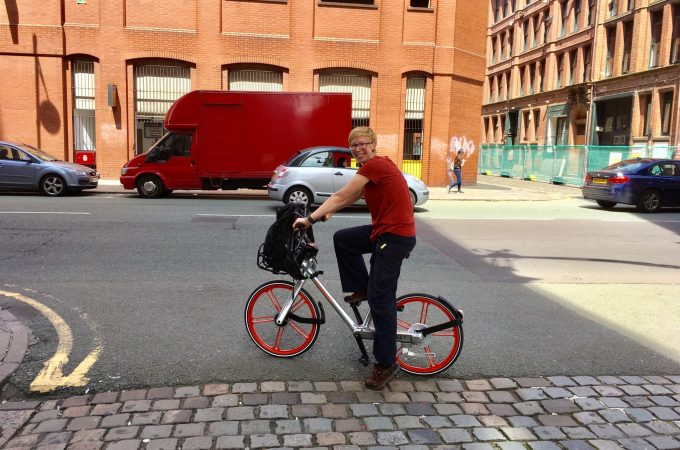 A local adventure by Manchester Mobike
