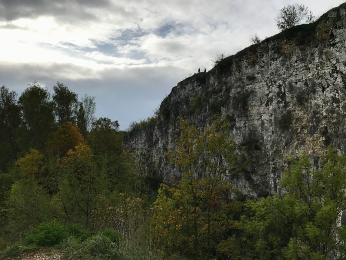 Krakow cliff