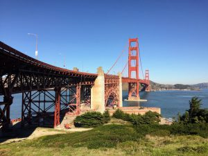 Walking over the Golden Gate Bridge   San Francisco   California   Hiking Trails USA   The Urban Wanderer   Sarah Irving   USA Travel   Outdoor Blogger   Travel Blogger   Manchester Blogger