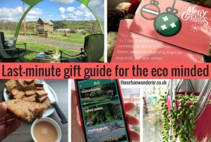 Compilation of pictures of the items included in the gift guide including an app, campsie vouchers, time tokens, baked goodies and plants