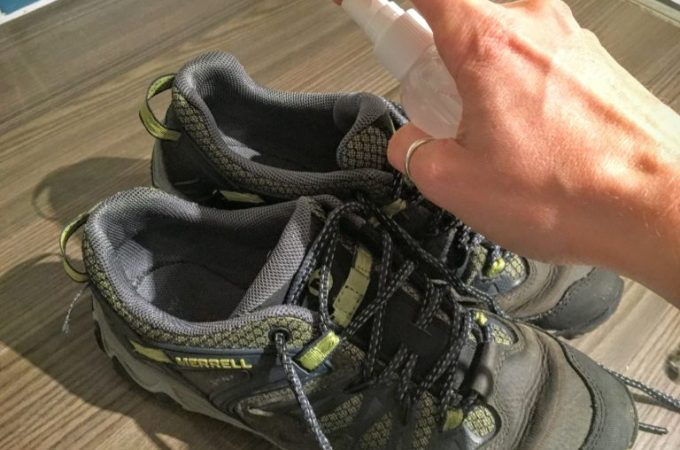 Natural Homemade Shoe Deodoriser
