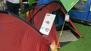 The go outdoors preston tent selection