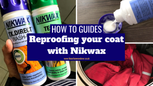 How to reproof your coat with Nikwax   Camping Tips   The Urban Wanderer   Sarah Irving   UK   Outdoor Blogger   Travel Blogger   Manchester Blogger